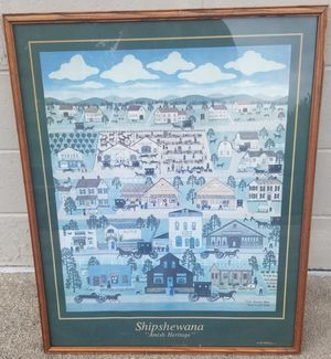 Shipshewana Amish Heritage Print Carol Offet 1987 for Sale in Three Rivers, MI