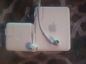 Apple charger , Airport Express Base Station & Apple earbuds for Sale in Phoenix, AZ