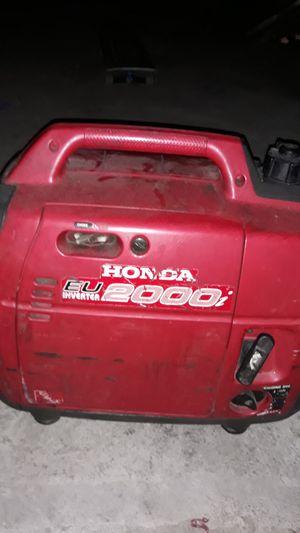 Honda EU 2000 97u for Sale in Los Angeles, CA