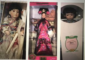 Antique porcelain Dolls and Barbie's for Sale in Pembroke Pines, FL