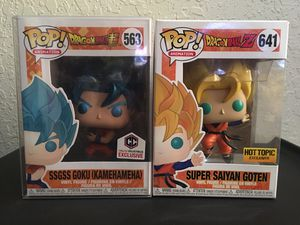 Funko Pop Dragonball Z Set for Sale in Los Angeles, CA