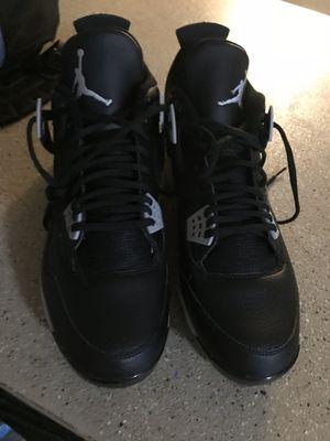 New Jordan 4 baseball cleats size 14 in men for Sale in Los Angeles, CA