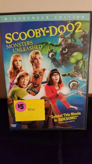 Scooby-Doo 2: Monsters Unleashed DVD for Sale in Palmyra, VA