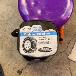 Cable Chains For Tires for Sale in Stanton, CA