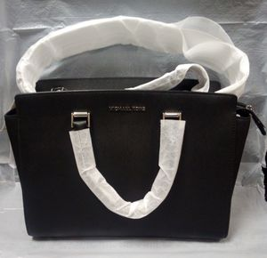 Michael Kors Black 'Selma' Leather Satchel for Sale in Fairfield, CA