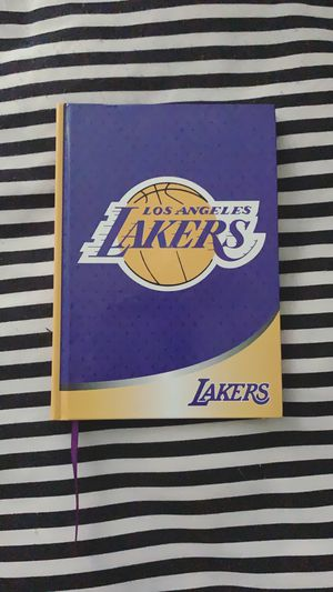 Lakers Pencil Set Removable Tattoos and Notepad Set for Sale in West Hollywood, CA