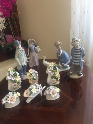 Lladro and Royal Stratford figurines for Sale in Glendale, CA