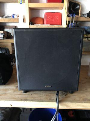 Jensen home sub woofer for Sale in Leavenworth, WA