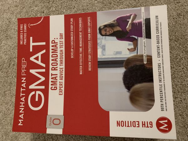 New Kaplan Gmat Books - 6th Edition for $100