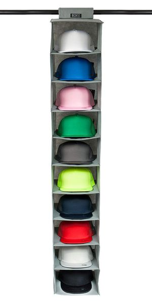 Hat Rack 10 Shelf Hanging Closet Hat Organizer for Sale in Saint Petersburg, FL