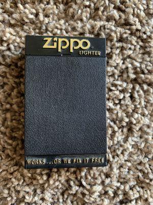 VINTAGE ZIPPO BLACK LIGHTER HD 54G for Sale in Phoenix, AZ
