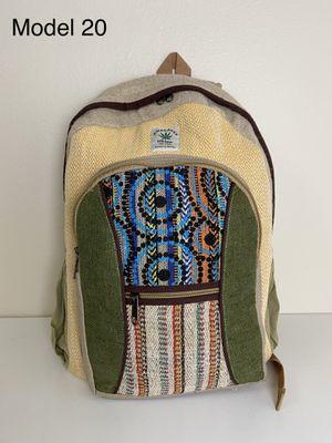 All Natural Handmade Boho/Hippie Pure Hemp Backpack/Laptop Bag for Sale in Portland, OR