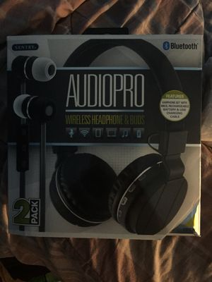 Wireless Headphone & Earbuds (iPhone,Android,tablet) for Sale in Norfolk, VA