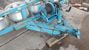 Trailer for carrs 4 tires x 2 spears and ramps for Sale in Denver, CO