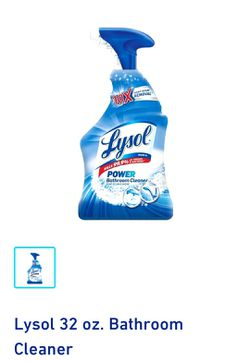 LYSOL BATHROOM CLEANER for Sale in Buffalo,  NY