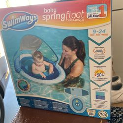 Baby Spring Float Sun Canopy  for Sale in Victorville, CA