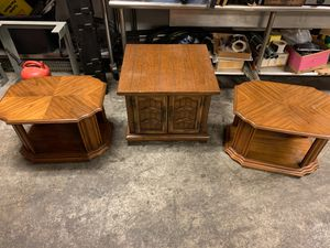 3 antique tables for Sale in Columbus, OH