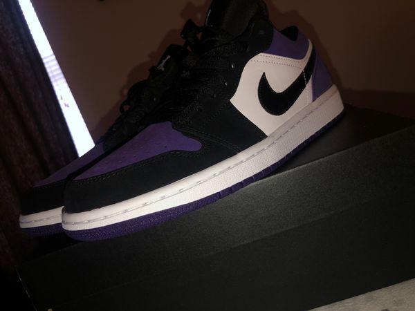 Low Air jordan 1 purple 😈 size 9