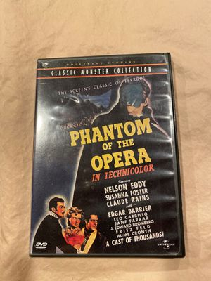 DvD Phantom of the Opera for Sale in Vancouver, WA
