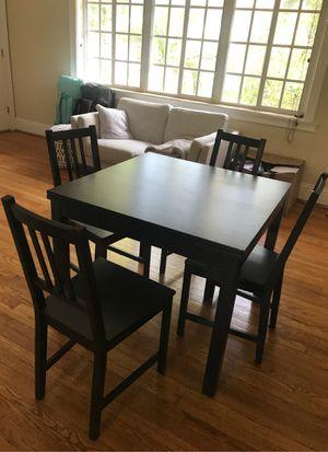 IKEA Dining Table - Black for Sale in Miami Beach, FL