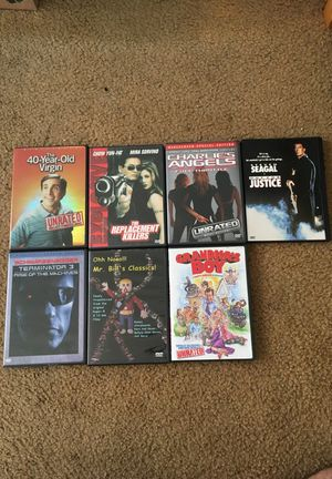DVDS for cheap $5 for Sale in Los Angeles, CA