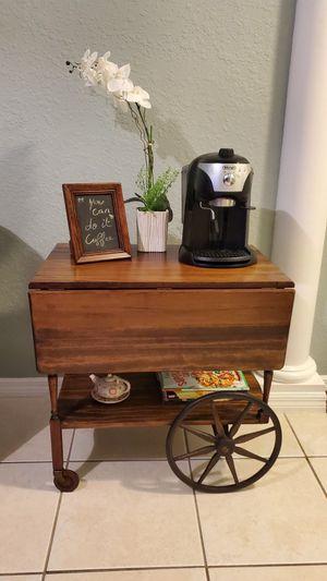 Tea cart, coffee bar for Sale in Thonotosassa, FL