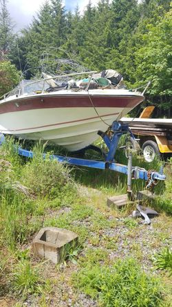 Boat with trailer. for Sale in Happy Valley,  OR
