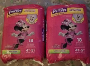 Huggies Pullups 4T-5T for Sale in Fresno, CA