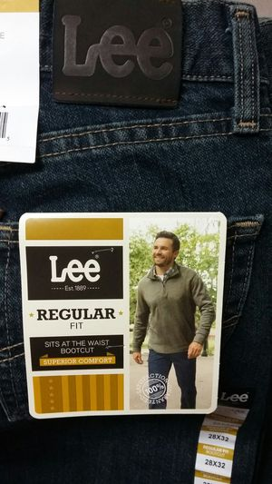 New with tags men's denim pants size 28 ×32 by Lee for $10 for Sale in Tucson, AZ