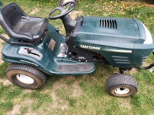 Craftsman riding lawn mower tractor for Sale in Portland, OR