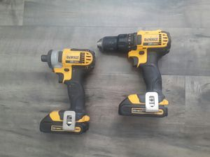 Dewalt 20V Max Drill and Impact Driver for Sale in Garden Grove, CA