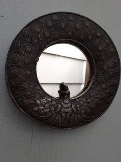 Small Vintage Peacock Mirror for Sale in Hillsboro,  OR