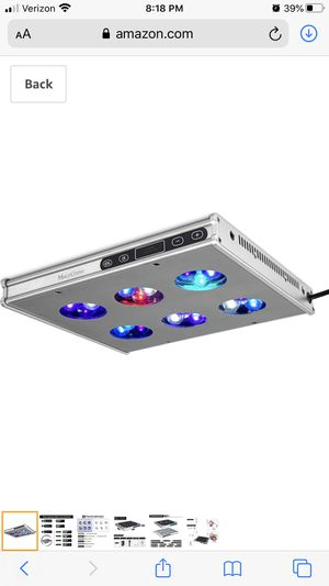 Aquarium Reef lite LED for Sale in Land O' Lakes, FL