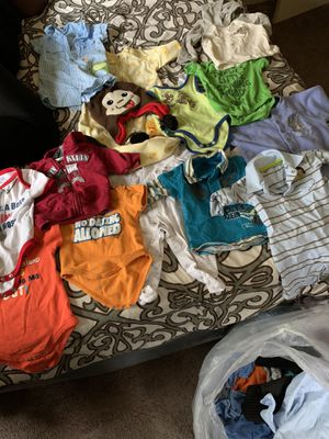 Bag full of baby boy clothes for Sale in Folcroft, PA