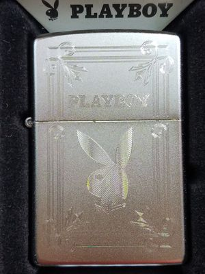 Zippo playboy satin chrome 49006 for Sale in Los Angeles, CA