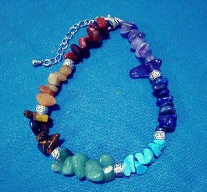 New Mixed Crystal Gemstone Chakra Bracelet for Sale in Chandler, AZ
