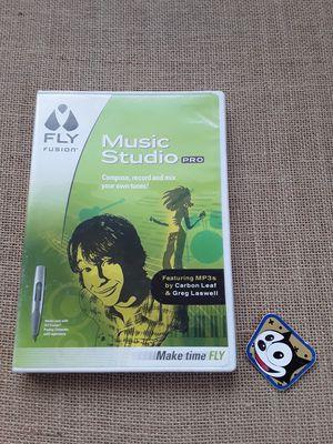 $3 Fly Fusion Music Studio Pro Installation CD for Sale in Hemet, CA