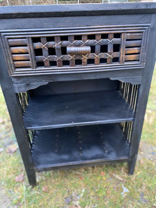 One drawer