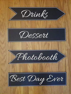 Wedding Signs for Sale in Tonawanda, NY
