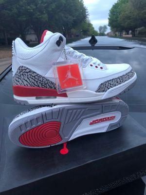 Retro Air Jordan 3 Katrina for Sale in Grand Prairie, TX