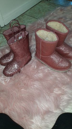 Ugg girl and western chief rainboots for Sale in San Fernando, CA