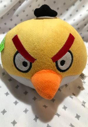 "5"" Angry Bird stuffed animal $4-Open page to see the rest for Sale in Menifee, CA"