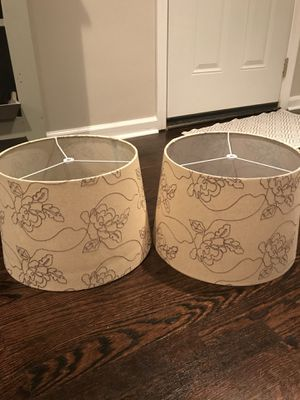 Lamp shades for Sale in Saint Clair Shores, MI
