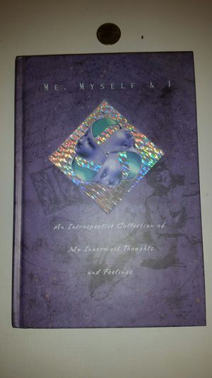 Personal hardcover book, diary, journal for Sale in Cooper City, FL