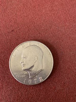 Old dollar coin 1972 for Sale in Houston, TX