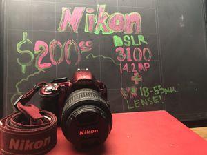 NIKON DSLR 3100 W/ VR 18-55MM LENSE ***PERFECT FIRST CAMERA*** for Sale in Bradenton, FL