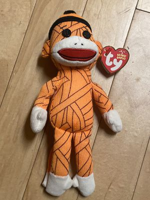 TY Beanie Baby Mummy Sock Monkey 2013 DOB TUSH TAG MINT for Sale in Bellflower, CA