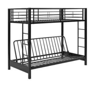 Black metal futon bed for Sale in Rialto, CA