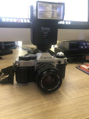 Vintage Canon AE-1 Program 35mm SLR Camera with 50mm 1:1.8 Lens for Sale in Germantown, MD