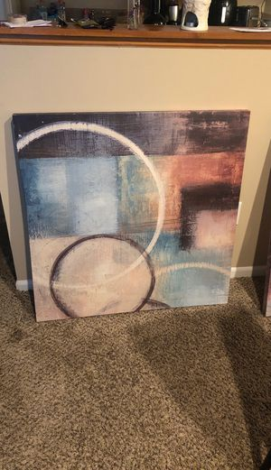 2 Wall Art Pictures Room Decor for Sale in Reynoldsburg, OH